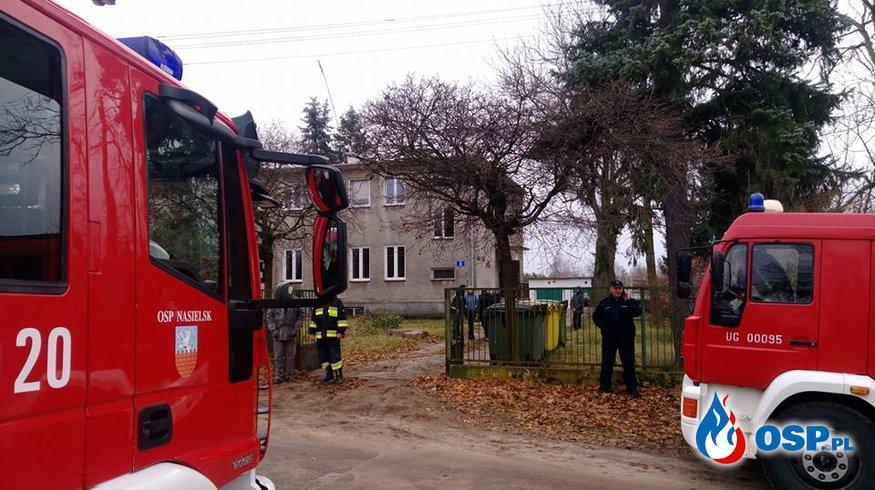 Wybuch gazu w budynku wielorodzinnym OSP Ochotnicza Straż Pożarna