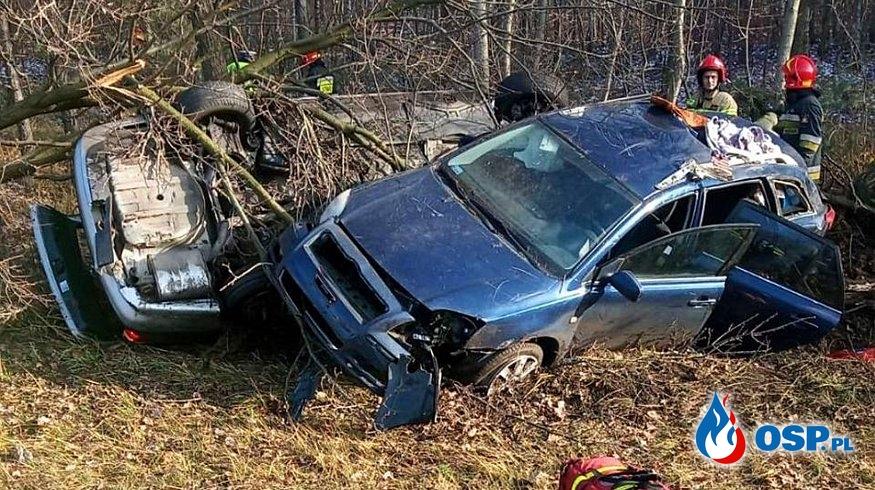 Pijany kierowca BMW sprawcą groźnego wypadku w Dąbrowie Górniczej OSP Ochotnicza Straż Pożarna