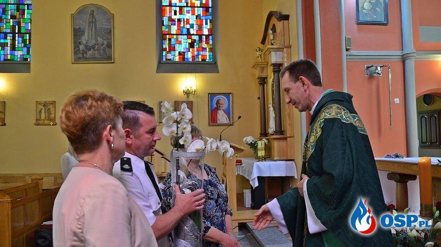 Msza św. z okazji jubileuszu 25-lecia kapłaństwa Ks. Proboszcza OSP Ochotnicza Straż Pożarna