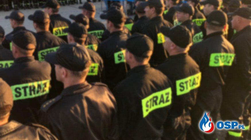 """""""Chorobowy protest"""" w PSP. Co się stanie, jeśli strażacy masowo zachorują? OSP Ochotnicza Straż Pożarna"""