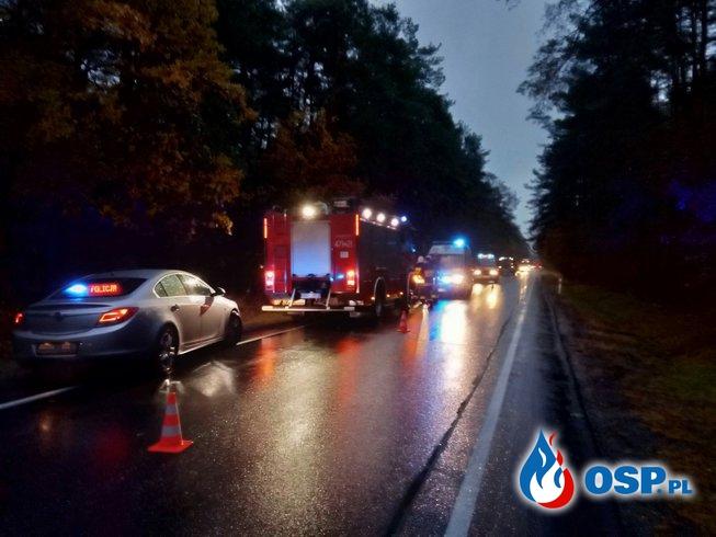 Niebezpiecznie na tzw. Anielińskim zakręcie‼️‼ OSP Ochotnicza Straż Pożarna