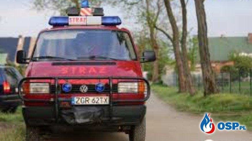 Akcja na Morzycku OSP Ochotnicza Straż Pożarna