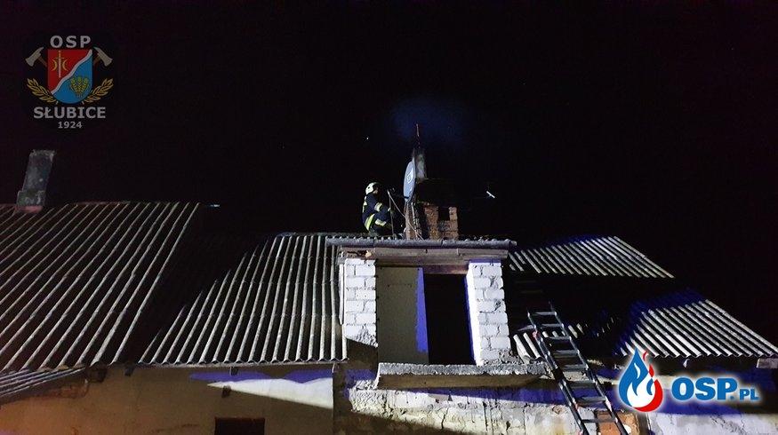 Pożar w środku nocy OSP Ochotnicza Straż Pożarna