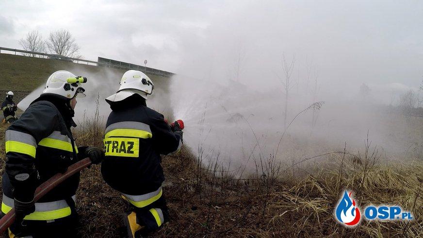 """Ćwiczenia wewnętrzne OSP """"pożar zewnętrzny"""". OSP Ochotnicza Straż Pożarna"""