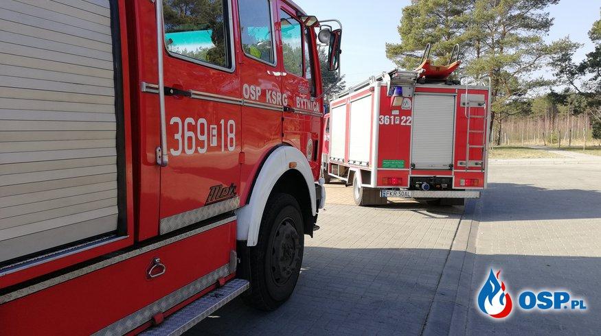 Akcja medyczna Bytnica 23.02.2018 OSP Ochotnicza Straż Pożarna