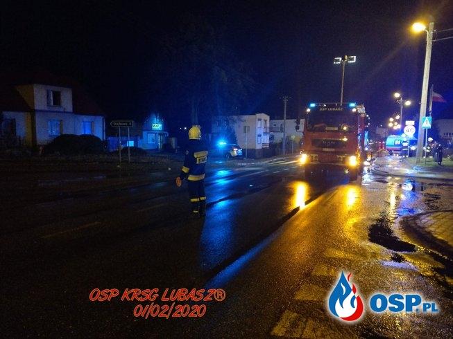 Potrącenie pieszego OSP Ochotnicza Straż Pożarna