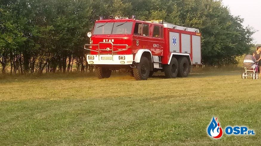 Nocny pożar zabudowań Karniszewo OSP Ochotnicza Straż Pożarna