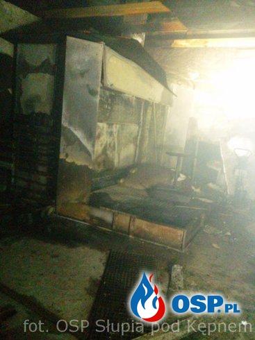 Pożar Marianka Mroczeńska OSP Ochotnicza Straż Pożarna