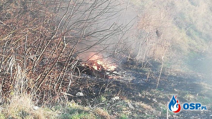 ,,Coś się pali na polach'' Wyjazd do pożaru OSP Ochotnicza Straż Pożarna