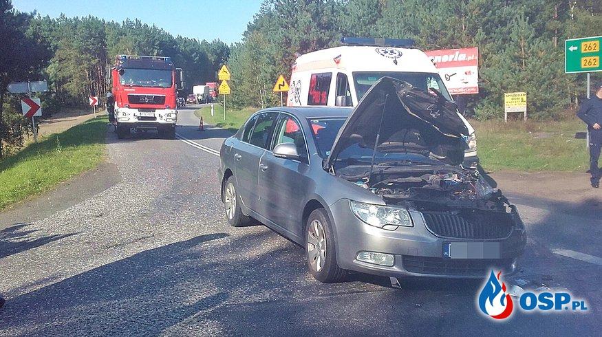 Wypadek - Smolniki Powidzkie OSP Ochotnicza Straż Pożarna