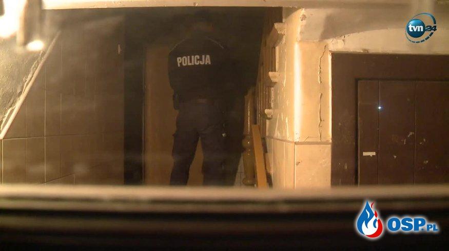 Ciała dwójki młodych ludzi w mieszkaniu w Szczecinie. Prawdopodobnie zatruli się czadem. OSP Ochotnicza Straż Pożarna