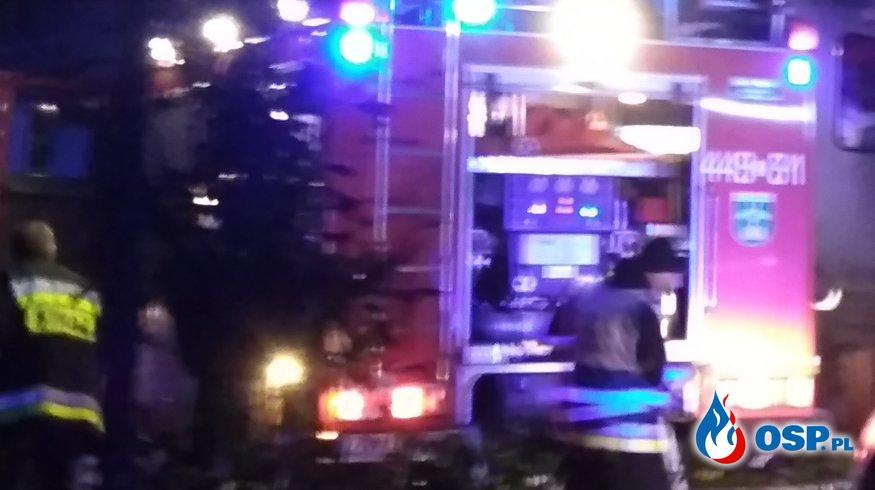11-11-17 godz. 21:10 Poszkodowany zamknięty w łazience OSP Ochotnicza Straż Pożarna