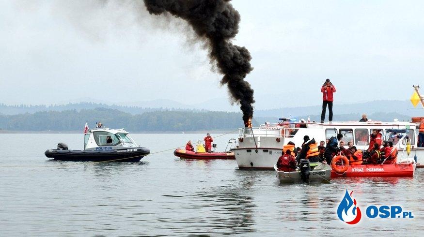 Ponad 100 strażaków OSP i PSP ćwiczyło wspólnie nad Soliną. Zobacz galerię zdjęć. OSP Ochotnicza Straż Pożarna