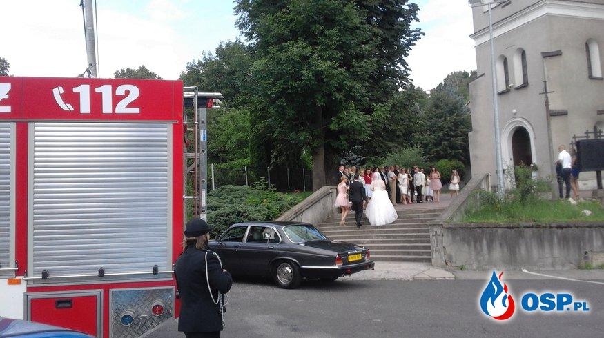 Ślub Druha z OSP Babice OSP Ochotnicza Straż Pożarna