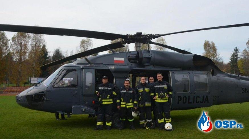 Black Hawk w akcji! OSP Ochotnicza Straż Pożarna