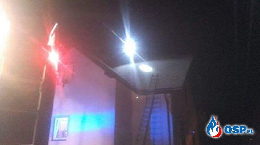 Pożar w Wołkowyji OSP Ochotnicza Straż Pożarna