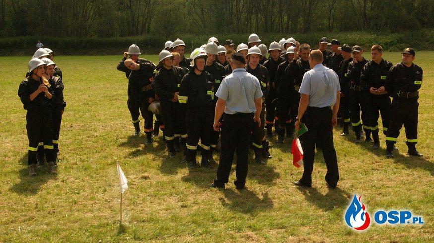 Gminne zawody strażackie 2015  OSP Ochotnicza Straż Pożarna