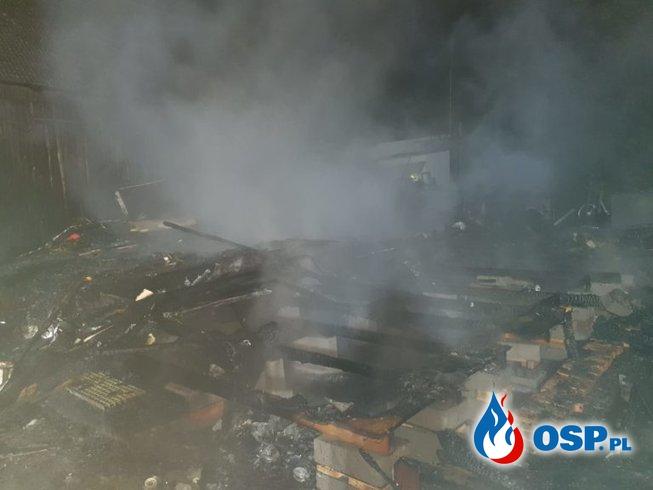 Chojno Młyn – pożar budynku mieszkalnego OSP Ochotnicza Straż Pożarna