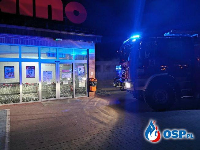 Nocny wyjazd do Dino OSP Ochotnicza Straż Pożarna