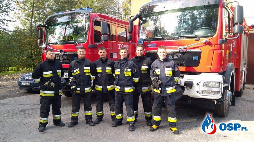 Powiatowe manewry jednostek OSP KSRG powiatu lubelskiego OSP Ochotnicza Straż Pożarna