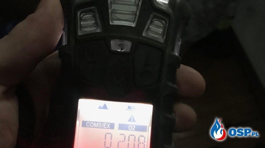 160/2019 Zadymienie i duże stężenie CO! OSP Ochotnicza Straż Pożarna