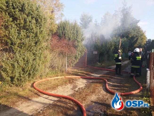 Tragiczny Pożar w Kuligowie OSP Ochotnicza Straż Pożarna