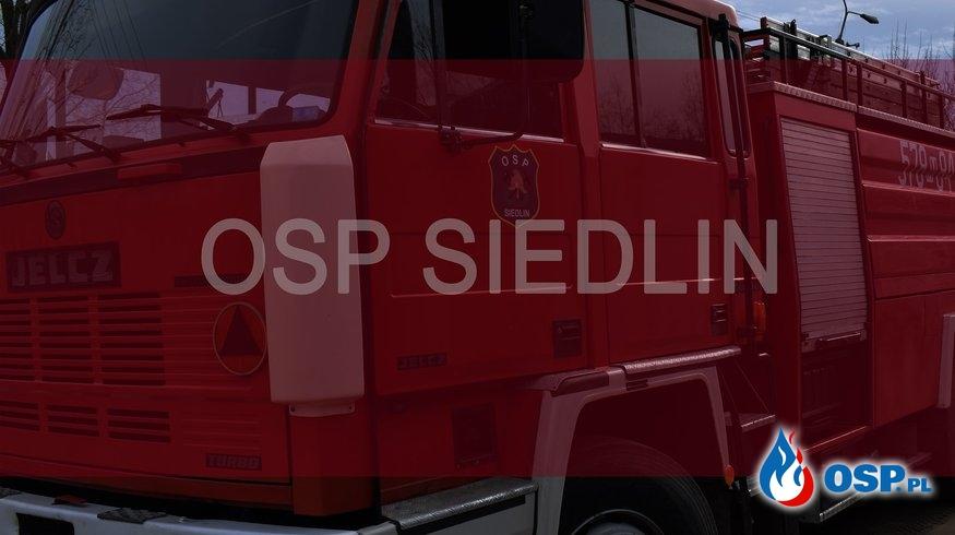 Pożar trawy w miejscowości Michalinek OSP Ochotnicza Straż Pożarna