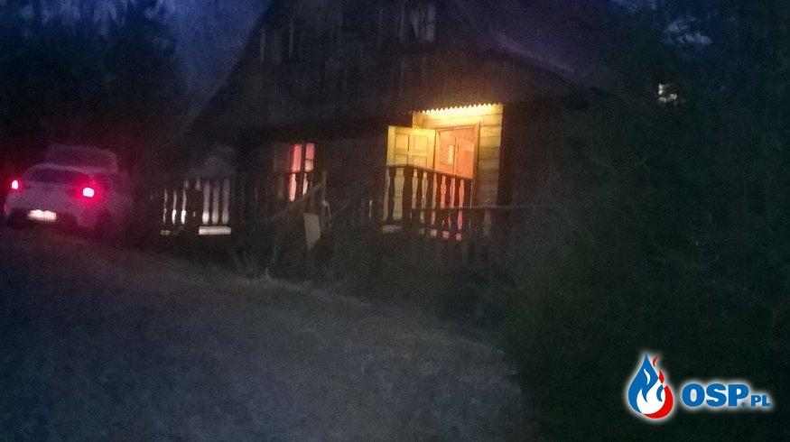 Dwa pożary jednej nocy - Terka, Polańczyk OSP Ochotnicza Straż Pożarna