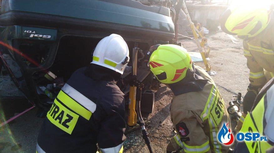 Ćwiczenia ratownictwa technicznego OSP Równe, Pietrowice i Zopowy OSP Ochotnicza Straż Pożarna
