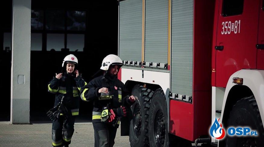 """""""Kobiety w straży"""". Wyjątkowy spot na dzień kobiet! OSP Ochotnicza Straż Pożarna"""