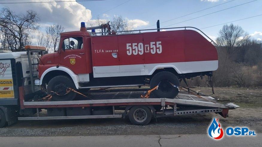 Mercedes sprzedany... OSP Ochotnicza Straż Pożarna