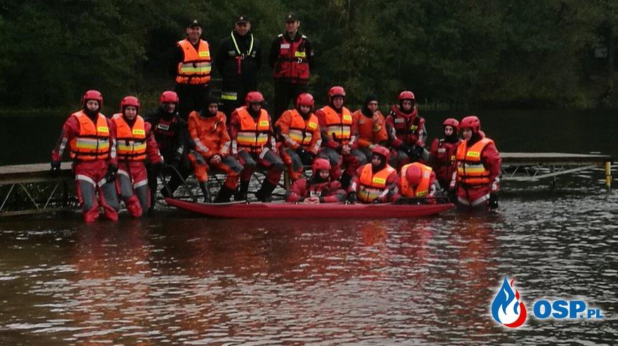 Szkolenie z ratownictwa wodnego OSP Ochotnicza Straż Pożarna