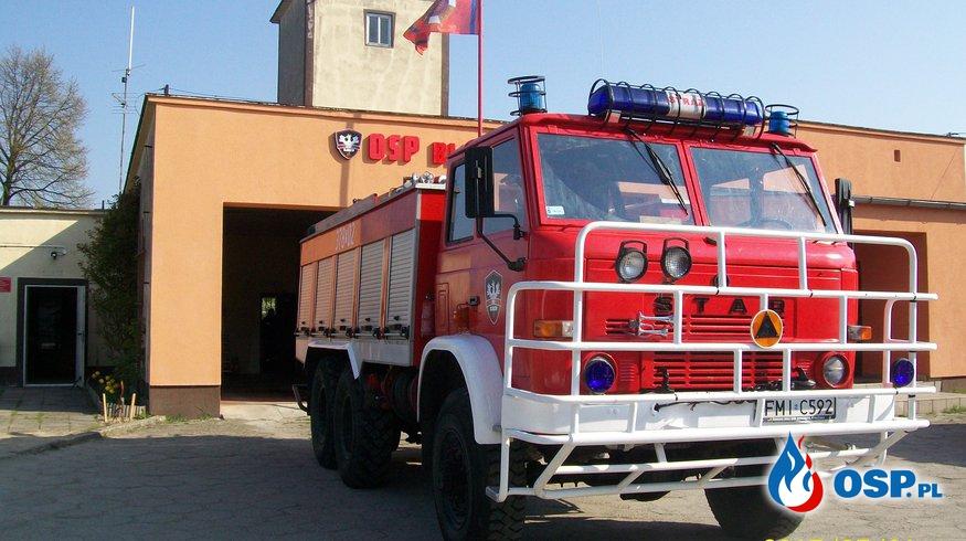 Zerwana linia telefoniczna OSP Ochotnicza Straż Pożarna