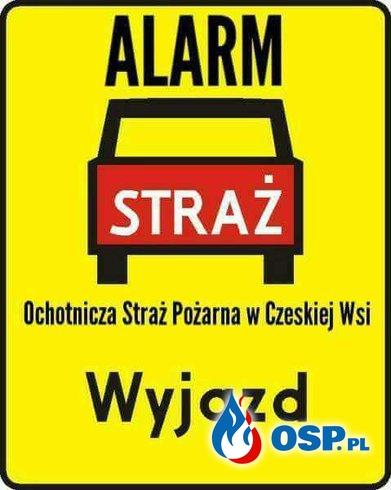 #13/2018 Pożar suchych traw w michalowie OSP Ochotnicza Straż Pożarna