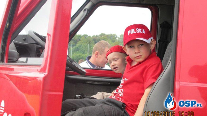 Wróblewo - pokazy dla dzieci OSP Ochotnicza Straż Pożarna