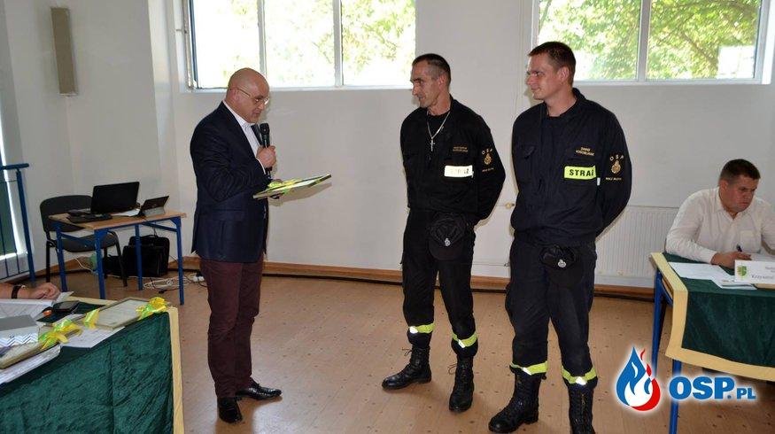 Podziękowania Wójta OSP Ochotnicza Straż Pożarna
