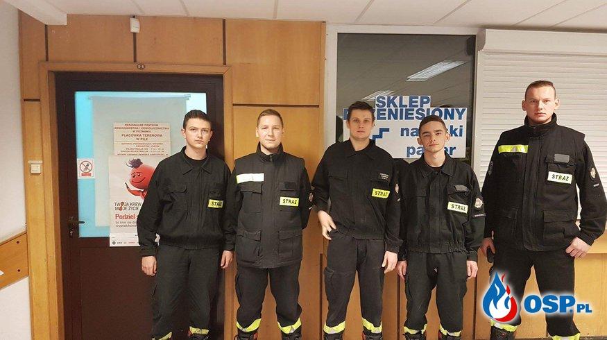 Honorowa akcja krwiodawstwa OSP Ochotnicza Straż Pożarna