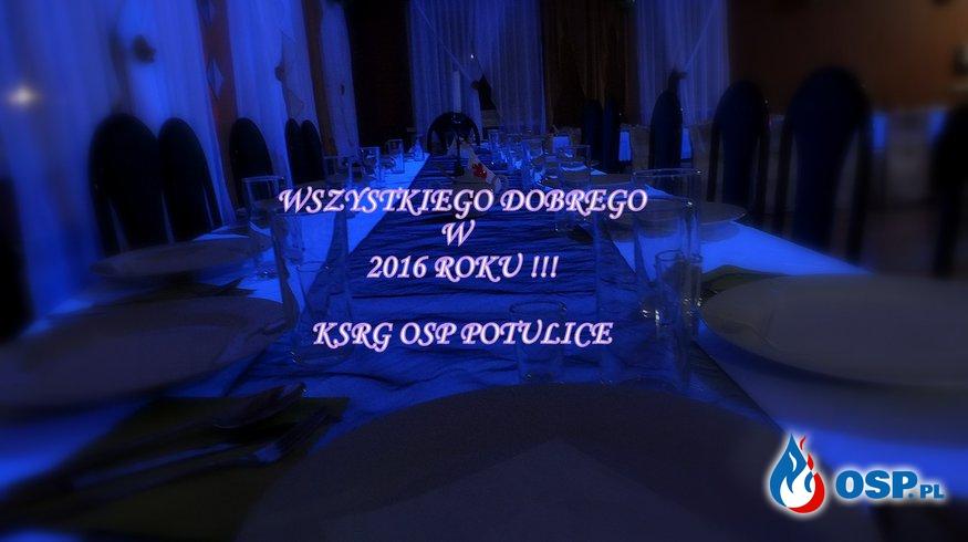 Życzenia na Nowy 2016 Rok ! OSP Ochotnicza Straż Pożarna