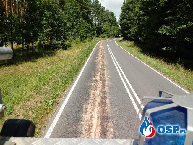 Długa Plama Oleju (Droga Wojewódzka nr 138) OSP Ochotnicza Straż Pożarna