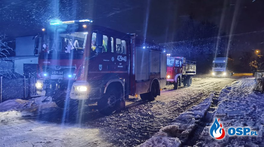 Pożar altany ogrodowej w Szymanach gm. Grajewo OSP Ochotnicza Straż Pożarna