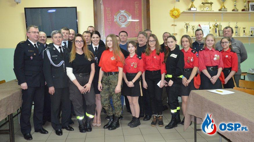 Walne Zebranie Sprawozdawcze OSP w Milejczycach OSP Ochotnicza Straż Pożarna