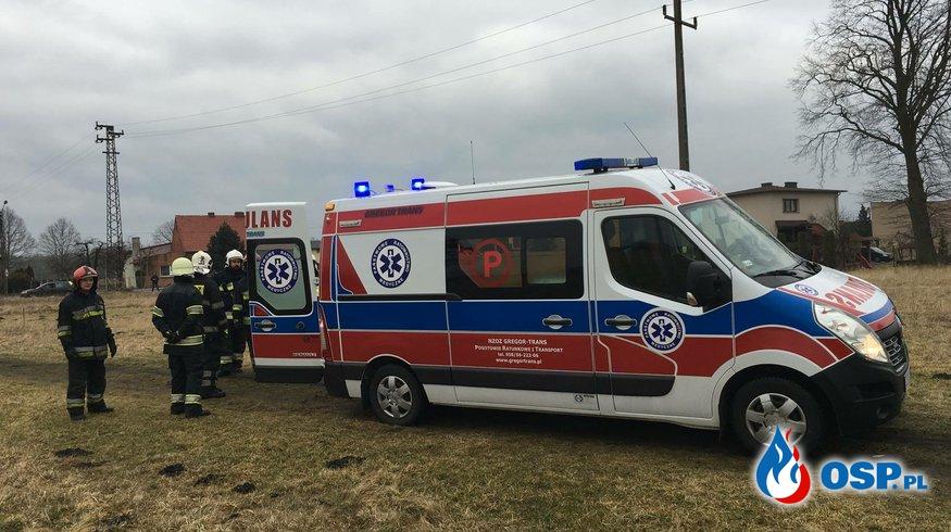 Pomoc Zespołowi Ratownictwa Medycznego. OSP Ochotnicza Straż Pożarna