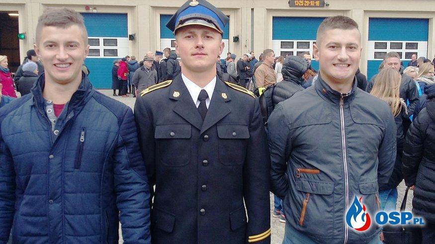 Ślubowanie w Szkole Aspirantów PSP w Krakowie OSP Ochotnicza Straż Pożarna