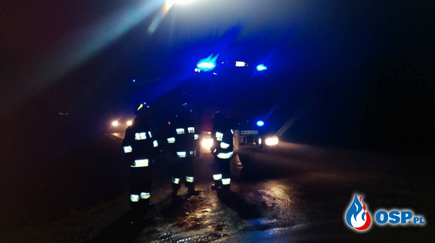 Kolizja z autokarem - Prędocin OSP Ochotnicza Straż Pożarna