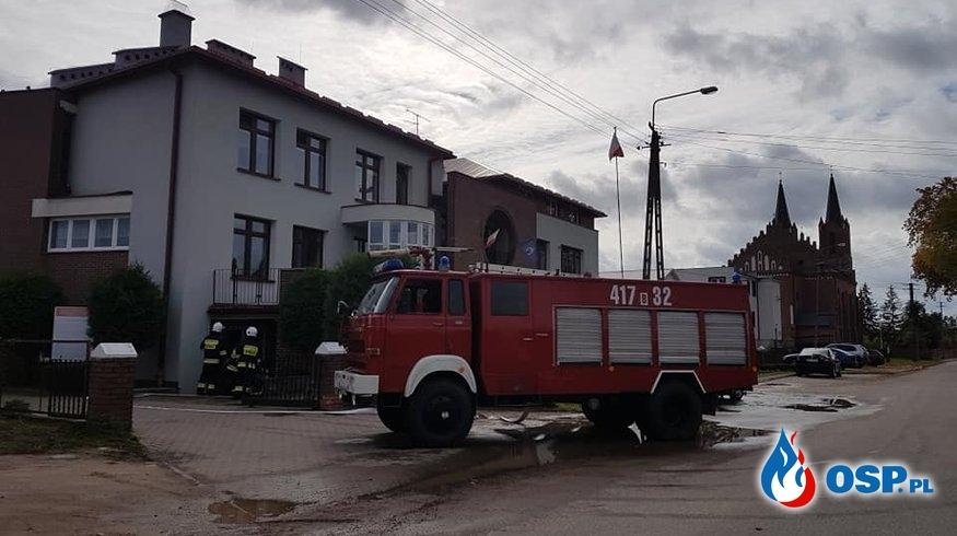 POŻAR SZKOŁY OSP Ochotnicza Straż Pożarna