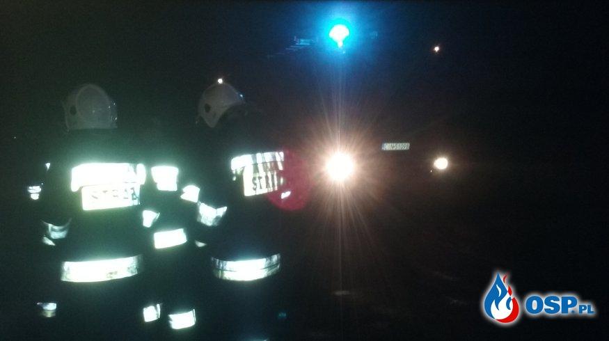 25.01.2017 - TLENEK WĘGLA W MIESZKANIU OSP Ochotnicza Straż Pożarna