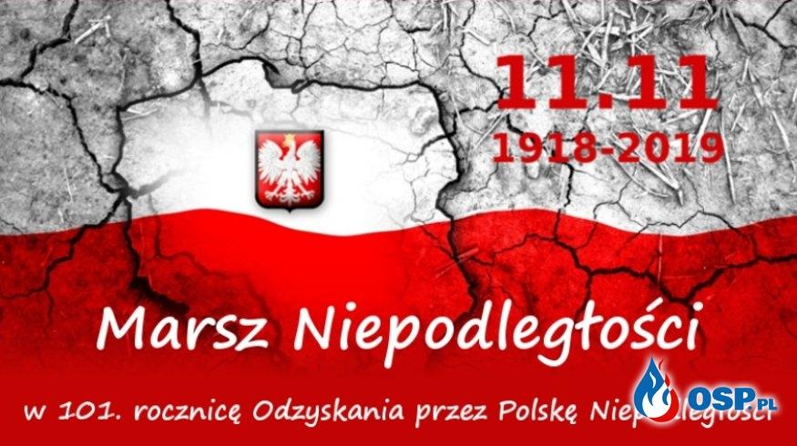 Zapraszamy na Marsz Niepodległości OSP Ochotnicza Straż Pożarna