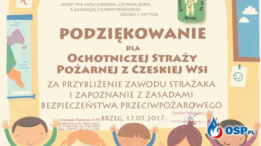 """Kolejna Edycja programu """"Bezpieczne Wakacje 2017"""" OSP Ochotnicza Straż Pożarna"""