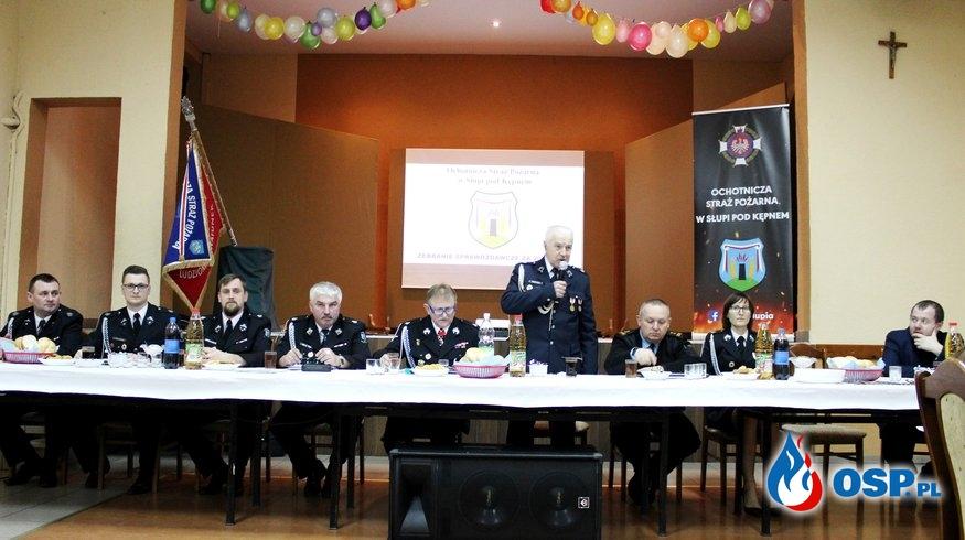 Zebranie sprawozdawcze za 2019 rok OSP Ochotnicza Straż Pożarna