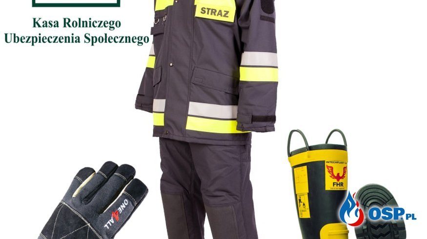 Nowe ubrania specjalne w Osp Orpelów OSP Ochotnicza Straż Pożarna